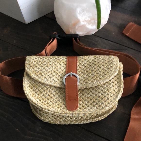 Handbags - Boho Nomad Straw Travelers Fanny Pack